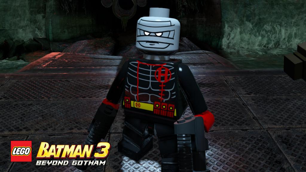 LEGO Custom PAD Printed Lego Batman 3 Video Game Nightwing Minifigure Minifig