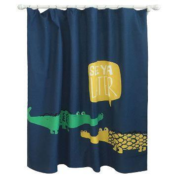 Alligator Safari Collection Set Towels Curtain Mat In 2020