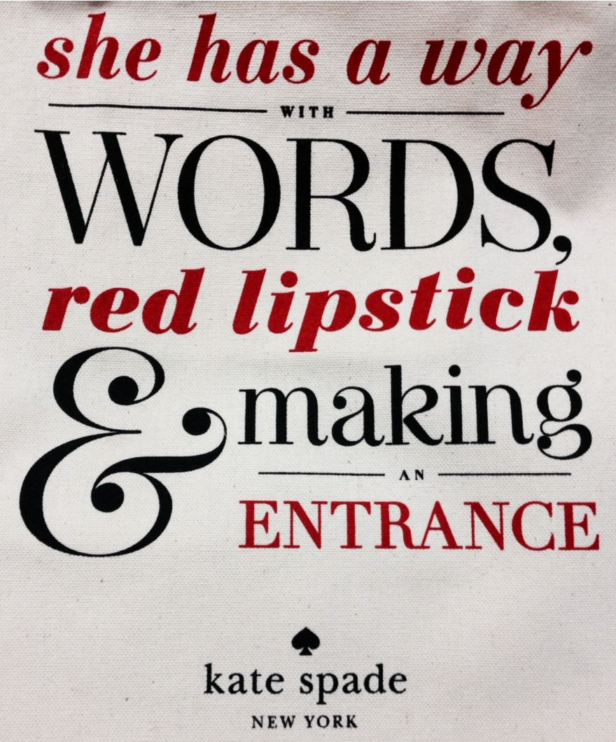 Red Lipstick Quotes Zsazsa Bellagio  Like No Other Isn't It Grande  Sassy Please