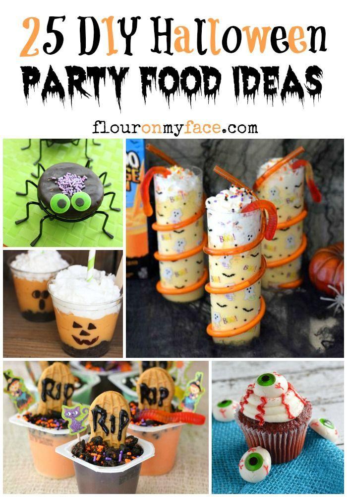 25 DIY Halloween Party Food Ideas Diy halloween food