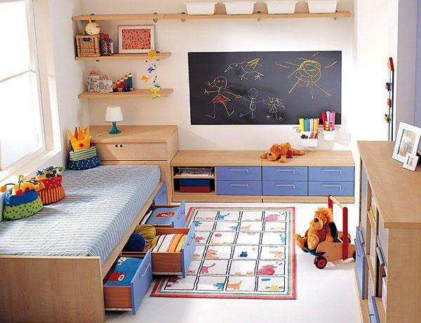 Dormir estudiar y jugar claves para decorar el cuarto de - Habitaciones infantiles nino ...