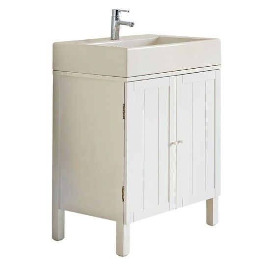 Bathroom Sinks John Lewis st ives double vanity unit with sink & tap from john lewis