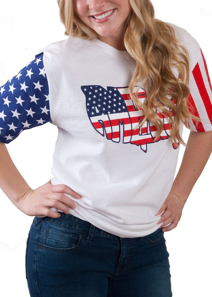 Ladies America T-Shirt