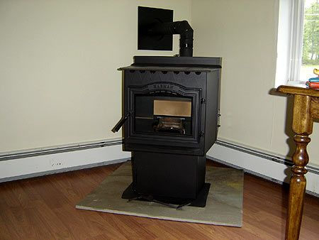Installing Our New Harman P38 Pellet Stove Pellet Stove Stove