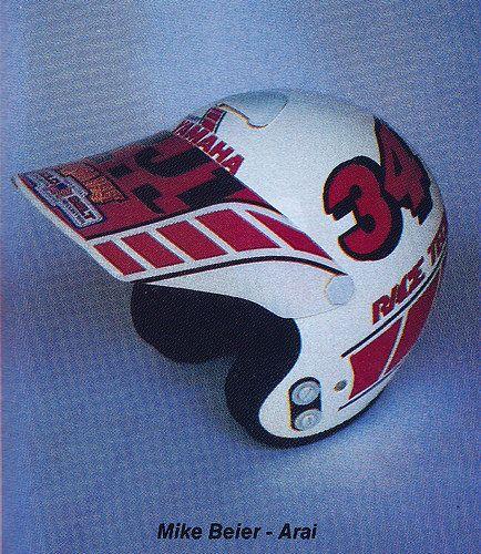 1986 Arai Helmet of Mike Beier | Flickr - Photo Sharing!