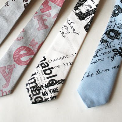 Neckties.