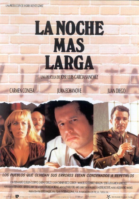 La noche más larga (1991) España. Dir: Jose Luis García Sánchez. Drama. Franquismo - DVD CINE 1417