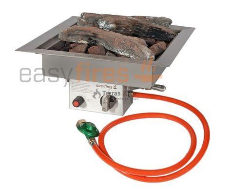 Machen Sie Selbst Ihren Eigenen Feuertisch Den Einbaubrenner Installieren Sie Auf Einfache Weise In Ihren Beliebten Sal Feuertisch Feuerstelle Gas Feuerstelle