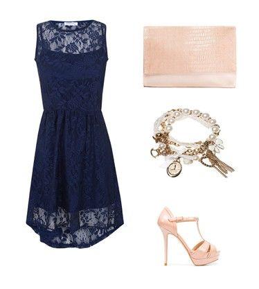 4e836e8cf Accesorios para un vestido azul marino corto – Vestidos madrina