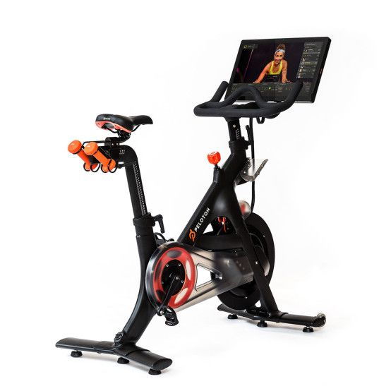 Peloton Cycle The Only Indoor Exercise Bike With Live Streaming Classes Biking Workout Exercise Bikes Indoor Bike