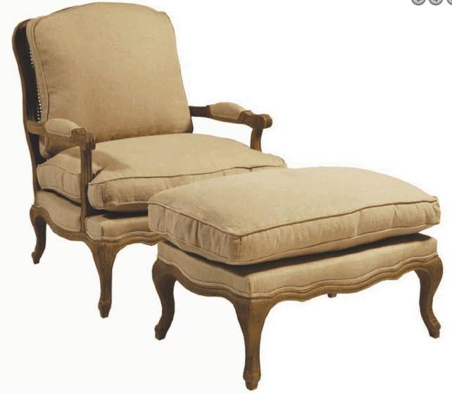 Mortise & Tenon Santa Barbara Bergere Chair