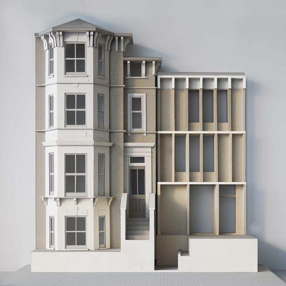 31/44 Architects, House on the Green, Facade Model
