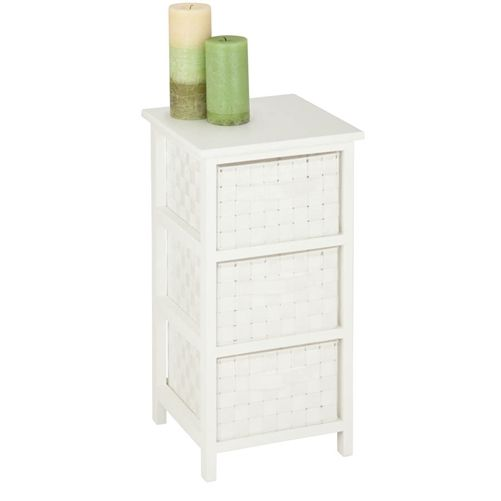 12x12x24 Honey Can Do OFC 03717 3 Drawer Storage Chest