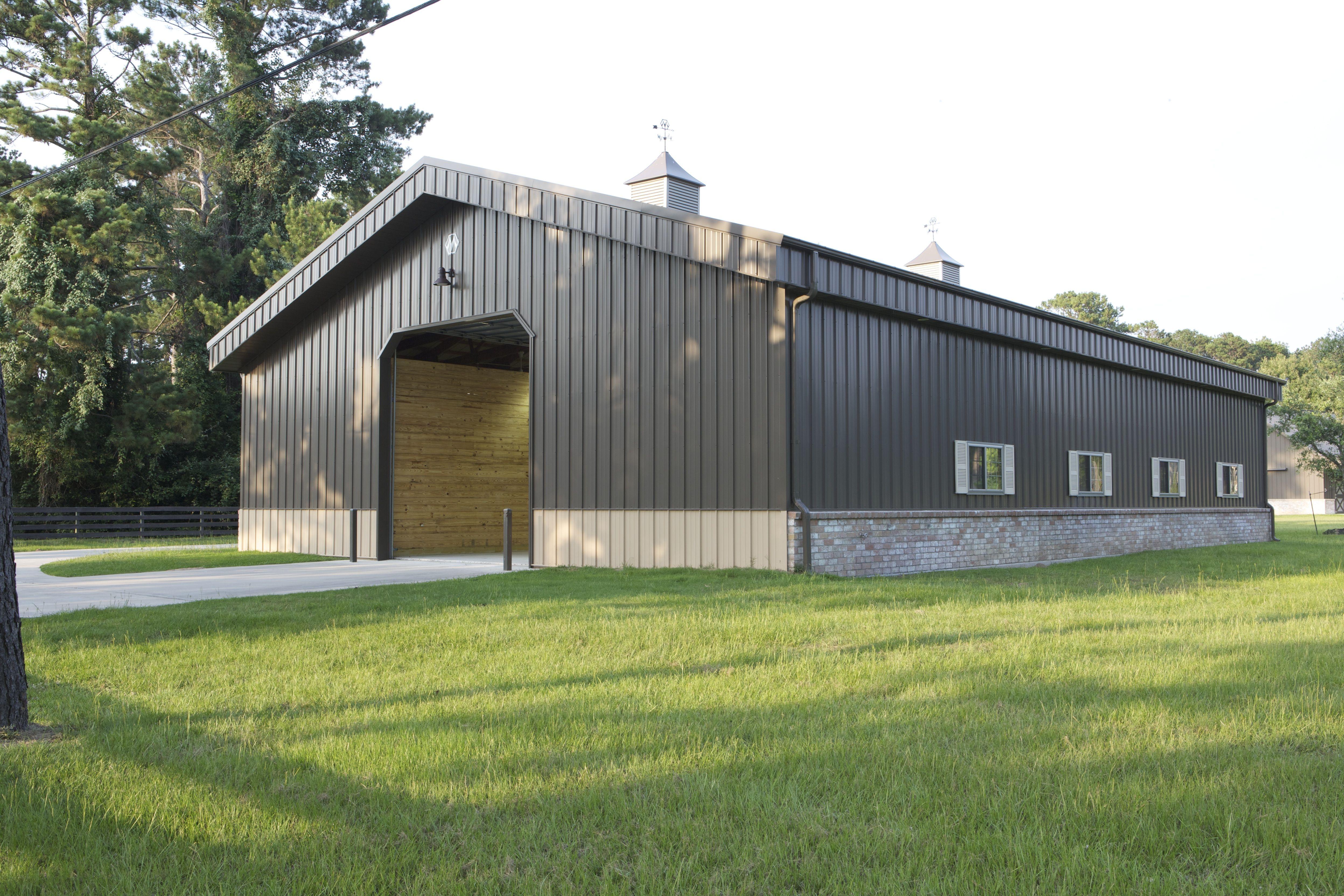 Morton Storage Building In Tomball Tx Metal Buildings