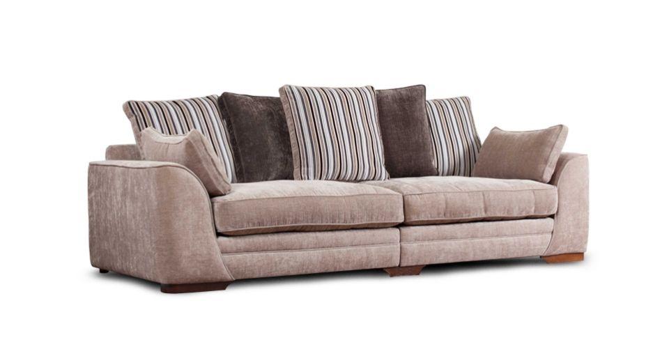 SCS portland 4 seater scatter back MINK | Fabric sofa, Sofa ...