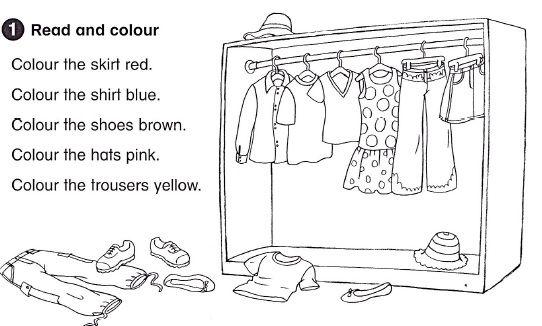 Resultado De Imagen Para Clothes Worksheets