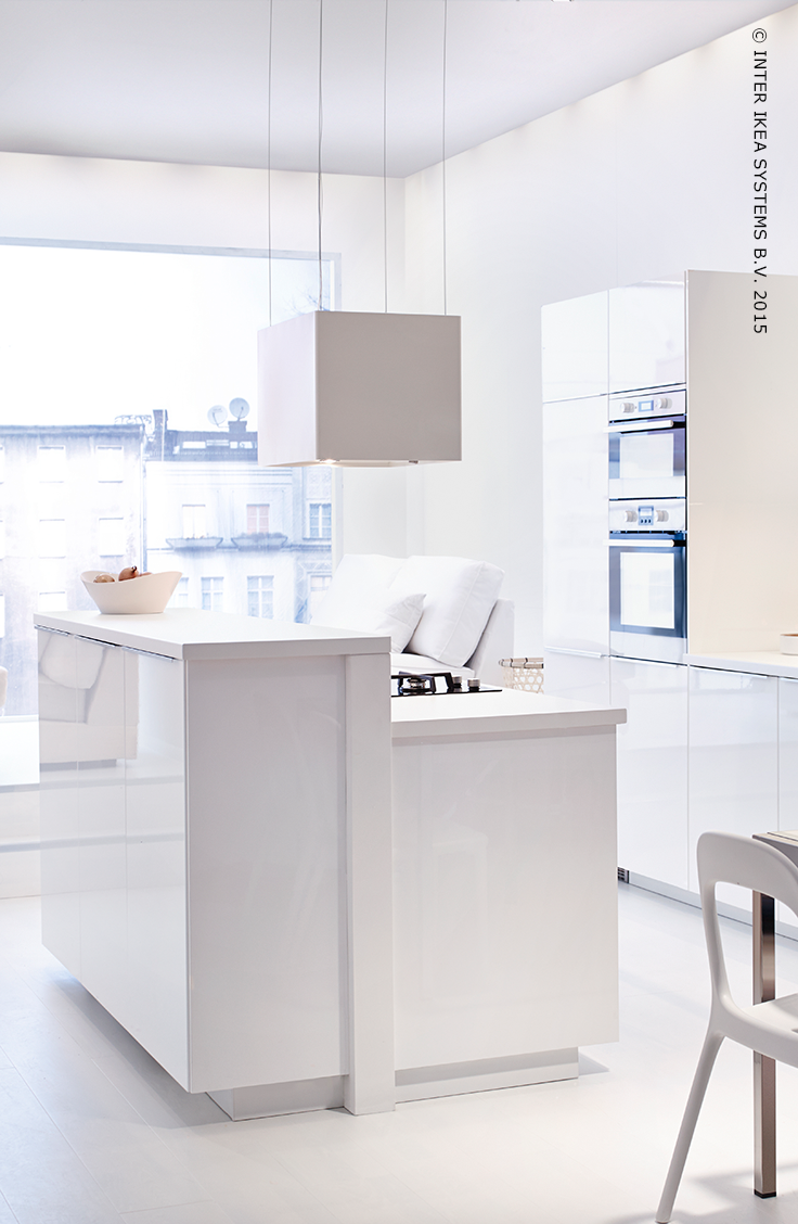 Een Minimalistische Keuken L Ckerbit Afzuigkap Ikea Pinterest