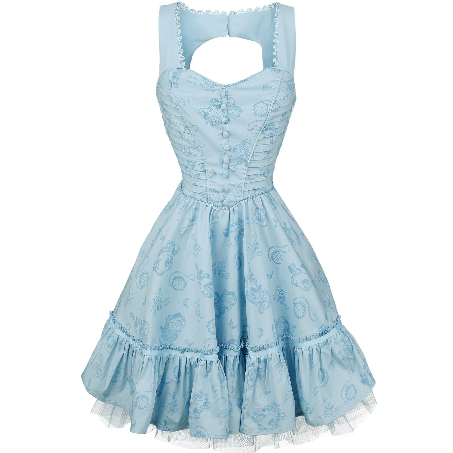 Hinter den Spiegeln | Classic dresses, Alice and Dress robes