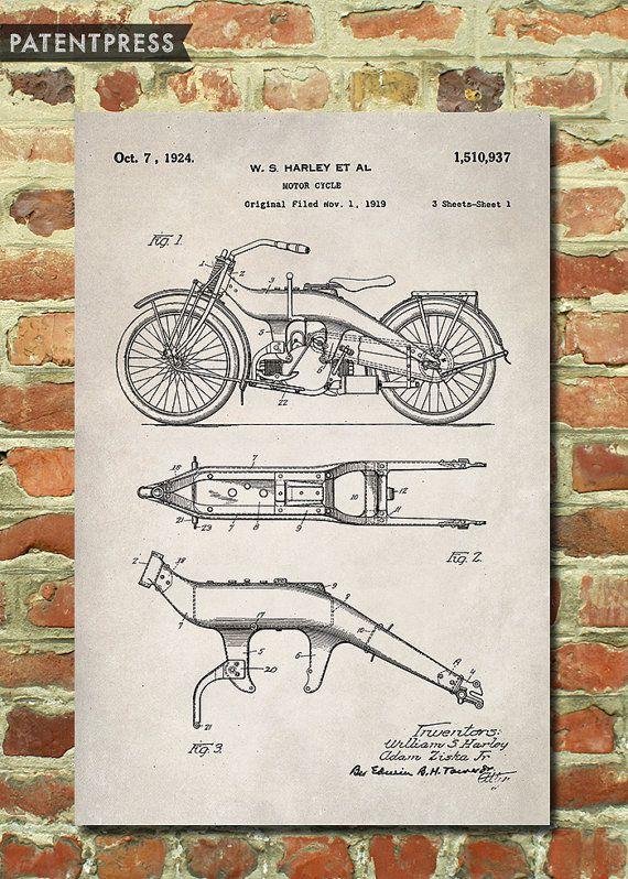 d95cfcbc36 Harley Davidson Gift for Men Motorcycle Gift for Dad Biker ...