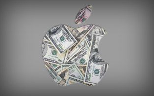 This infographic compares Apple's massive reach to things around it in the world.