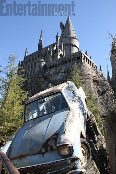 30 Exclusive First Look Photos Of The New Wizarding World Of Harry
