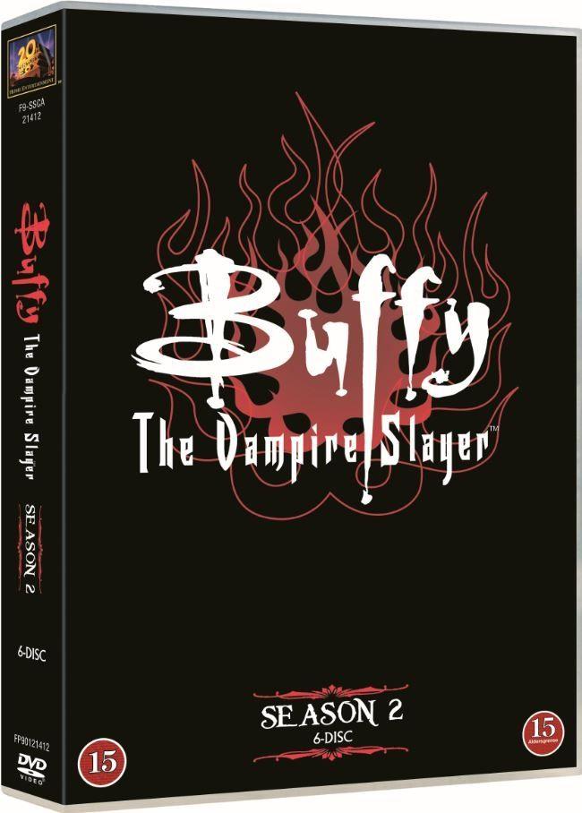 Buffy, 2. kausi. 9,95€.