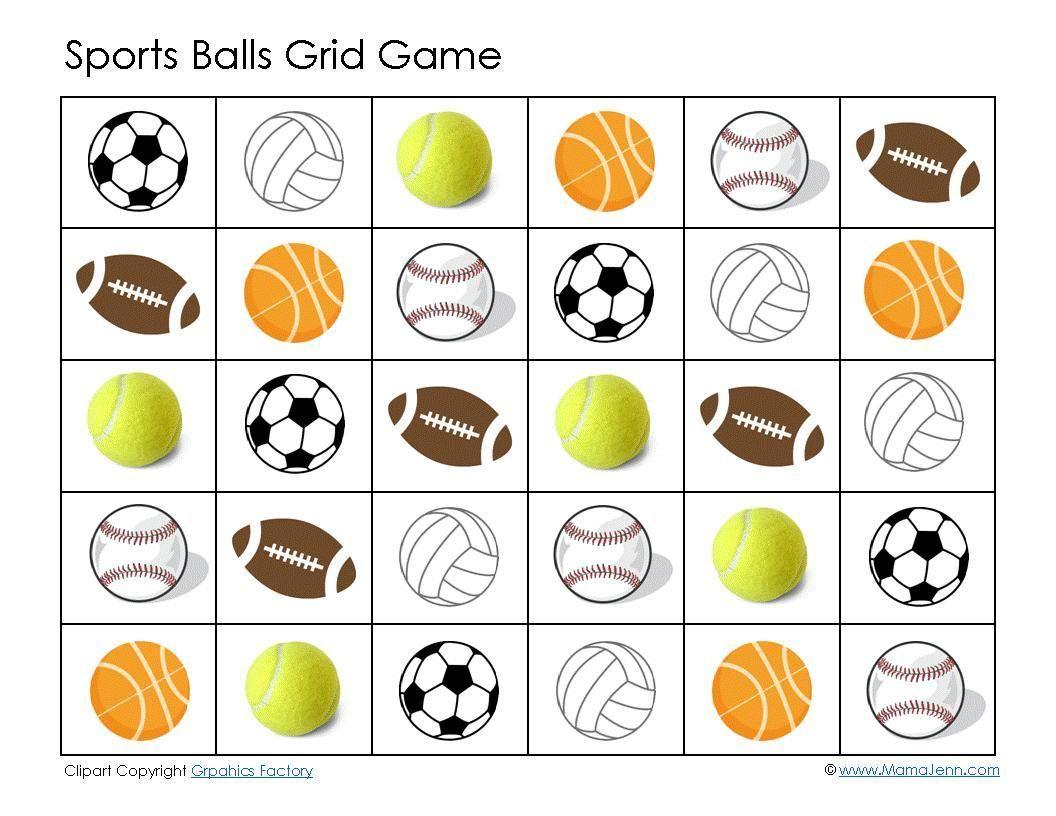 38 Ball Preschool Printable Worksheets En
