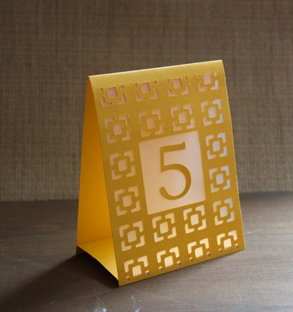 darden table number tents luminaries wedding table numbers
