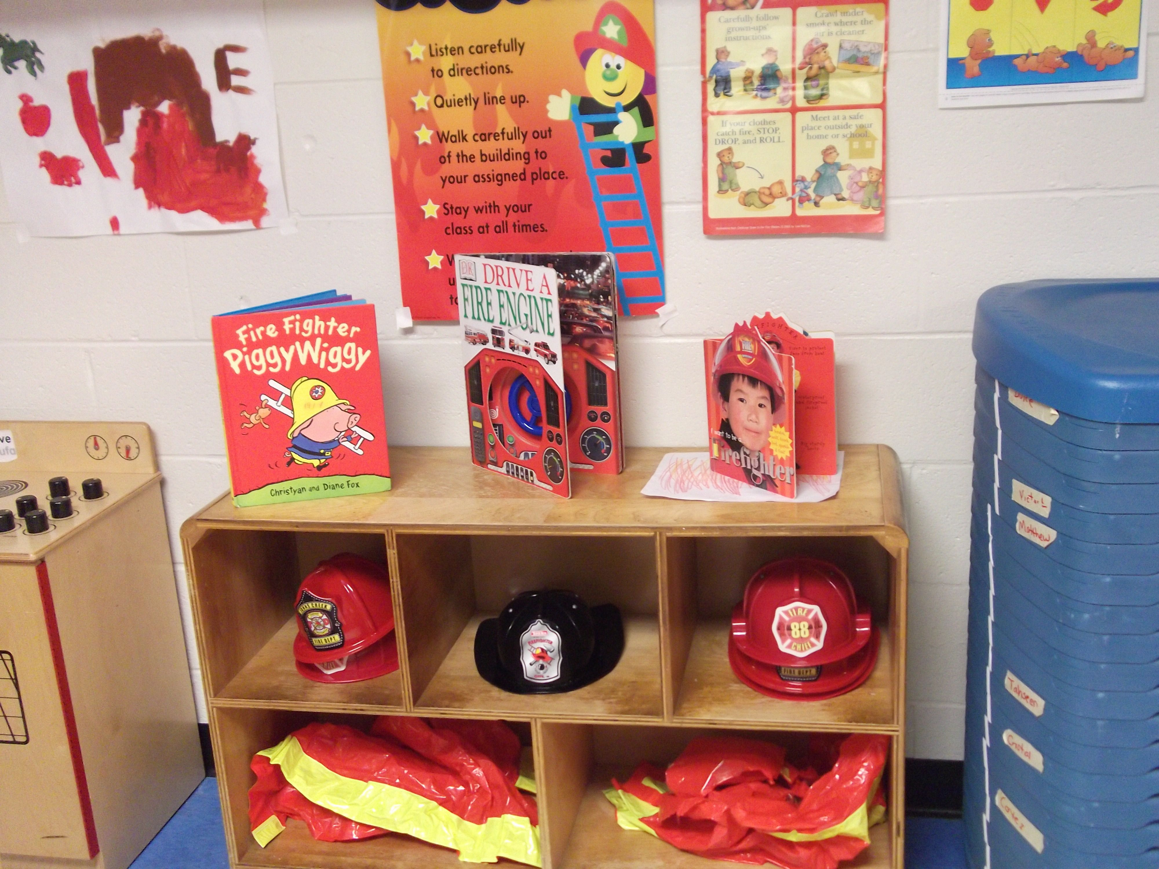 Fire Station Dramatic Play Prop Center With Images