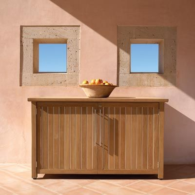 Gloster Sideboard Storage Unit Sideboard Storage Gloster Outdoor Furniture Modern Outdoor Furniture