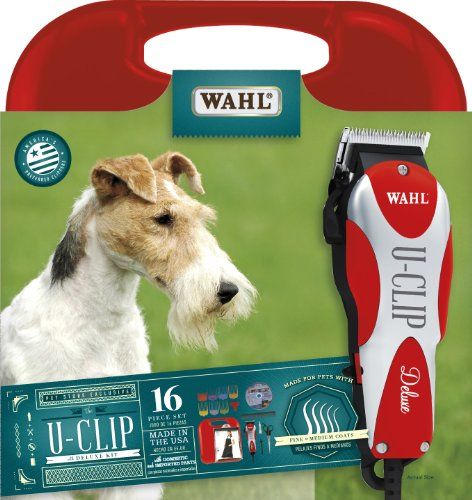 Just Ordered Wahl 9484 300 U Clip Deluxe Pro Home Pet Grooming Kit By Wahl Professional Animal Pet Grooming Dog Grooming Supplies Pets