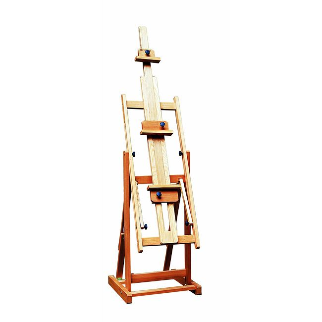 create and display paintings and drawings with this studio artist easel from weber bologna this