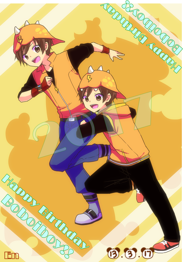 Boboiboy Happy Birthday BBB! ( event 2017 ) by Xierally
