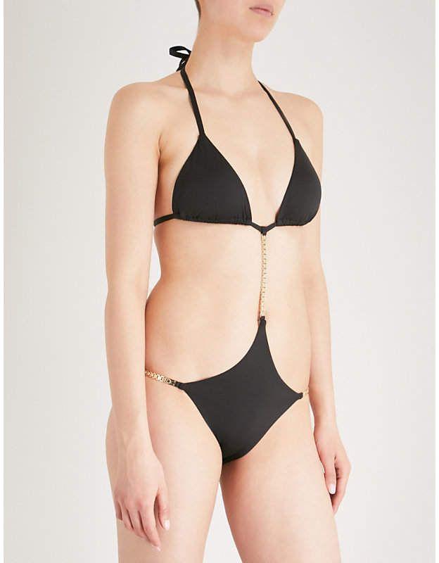 d10c1cf70cf Calvin Klein Cheeky Triangle swimsuit Triangle Bikini