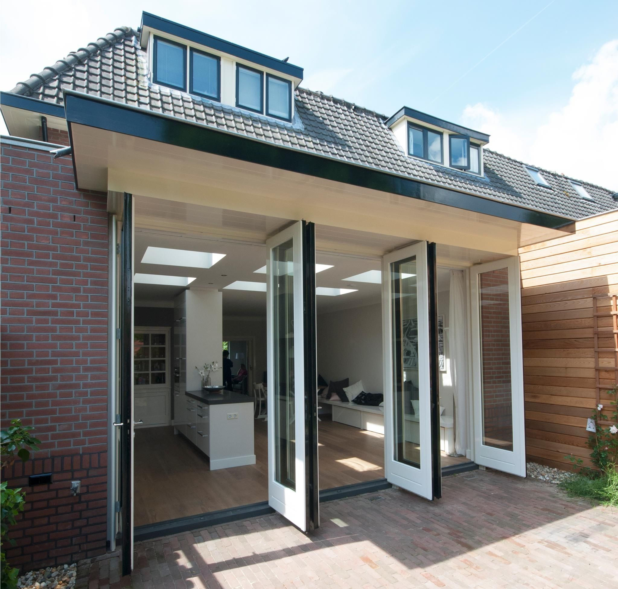 Uitbouw Project In Zeist Rob Ten Napel Architect Stacker Doorsextension