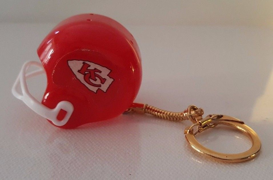 83291ad3 Kansas City Chiefs NFL Football Country Red Helmet Sports Key Chain ...