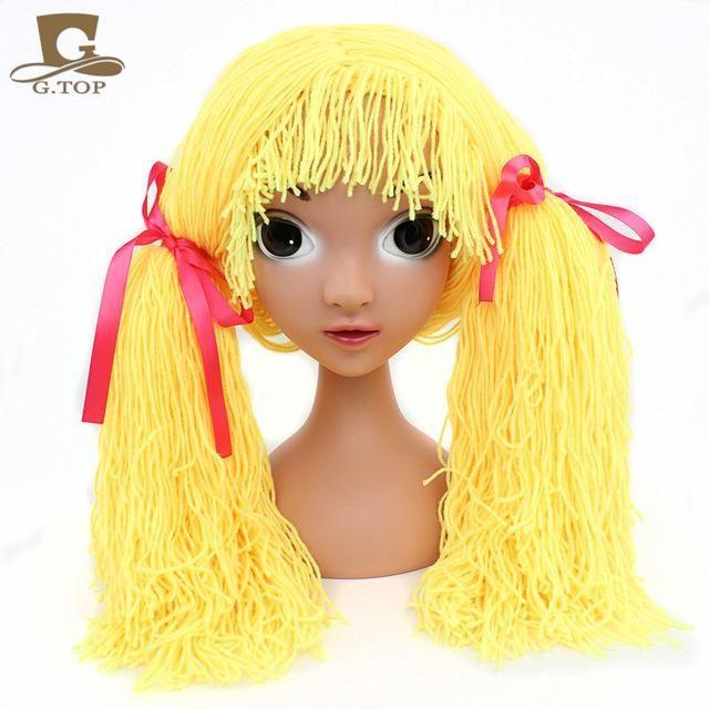 Girls Clown Halloween Costume Wig Products Pinterest Costume