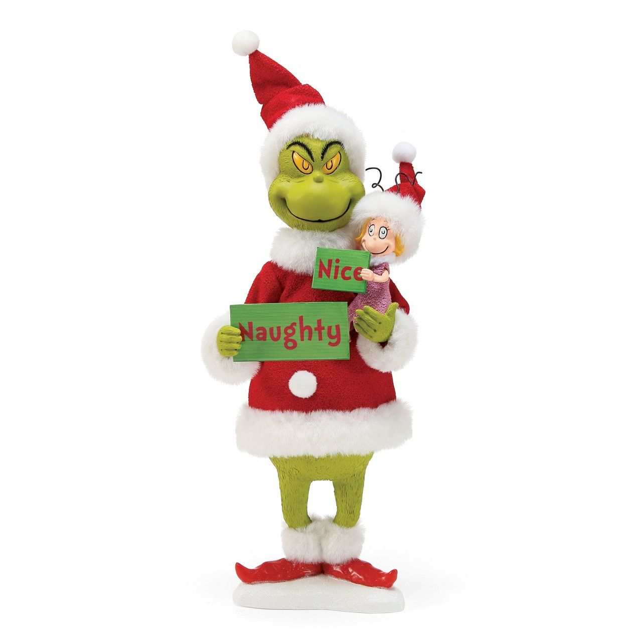 Department 56 The Grinch Naughty or Nice? 12\