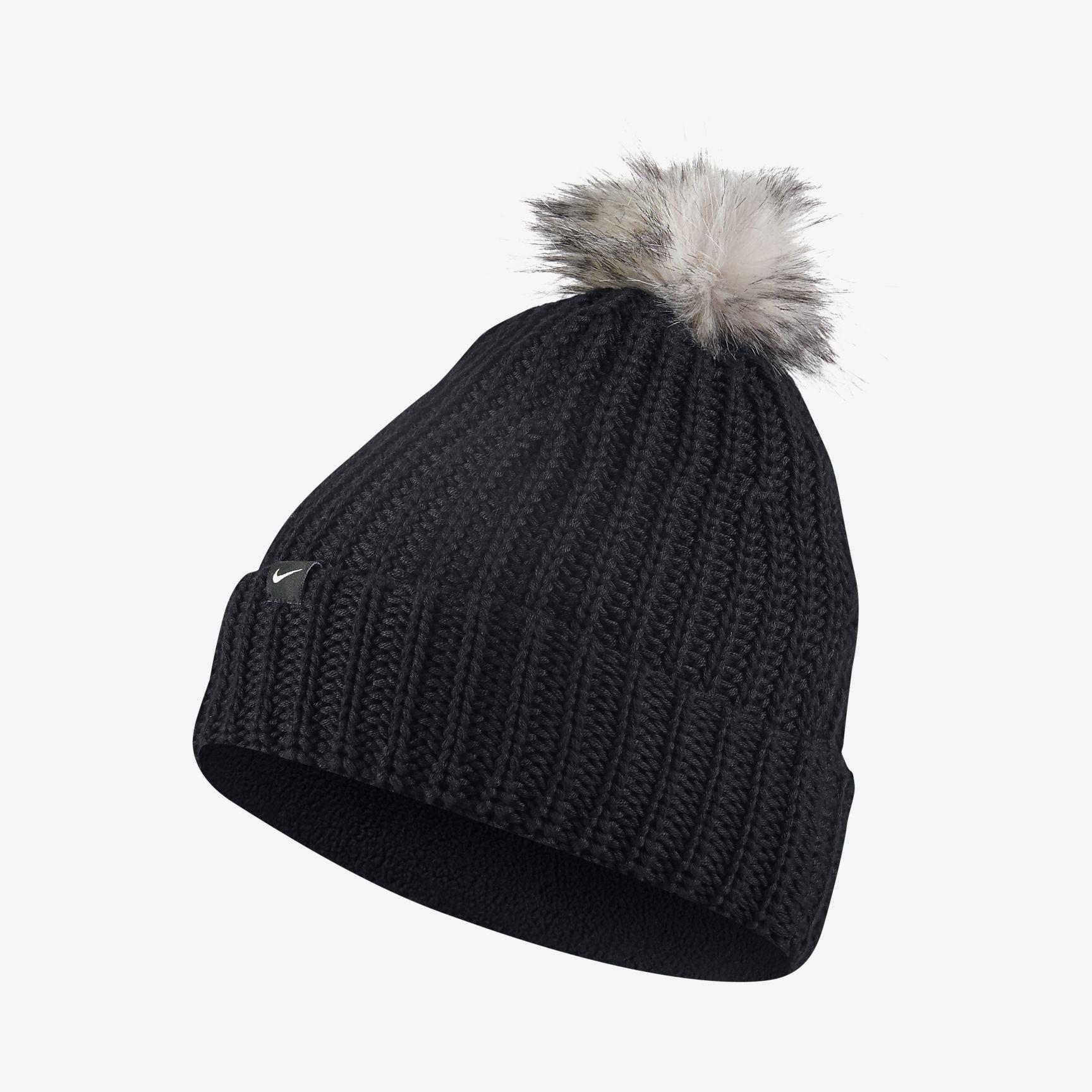 6d89055cbb7 ... australia nike golf pom womens knit hat f599e a8836