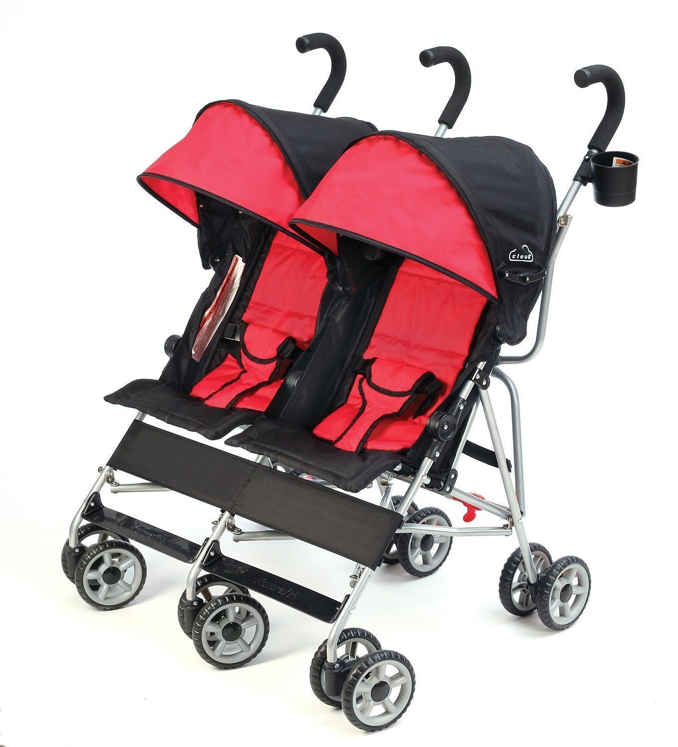 Click picture to enlarge Double umbrella stroller