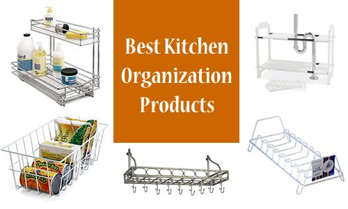 7 Great Kitchen Organizing Products | Organization ...