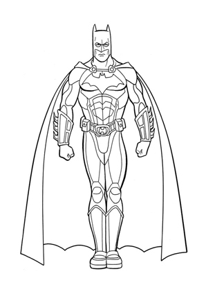 Ausmalbild Batman Ausmalen Batman Ausdrucken