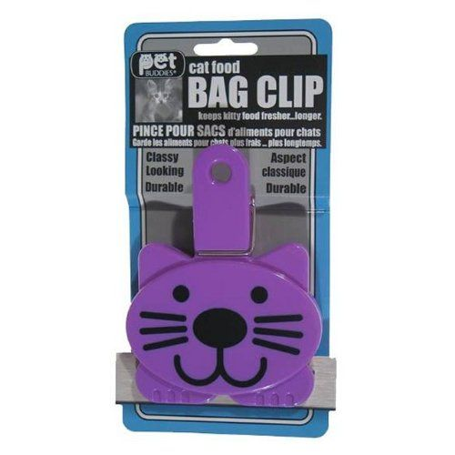 Petbud Cat Food Bag Clip New And Awesome Cat Product Awaits You