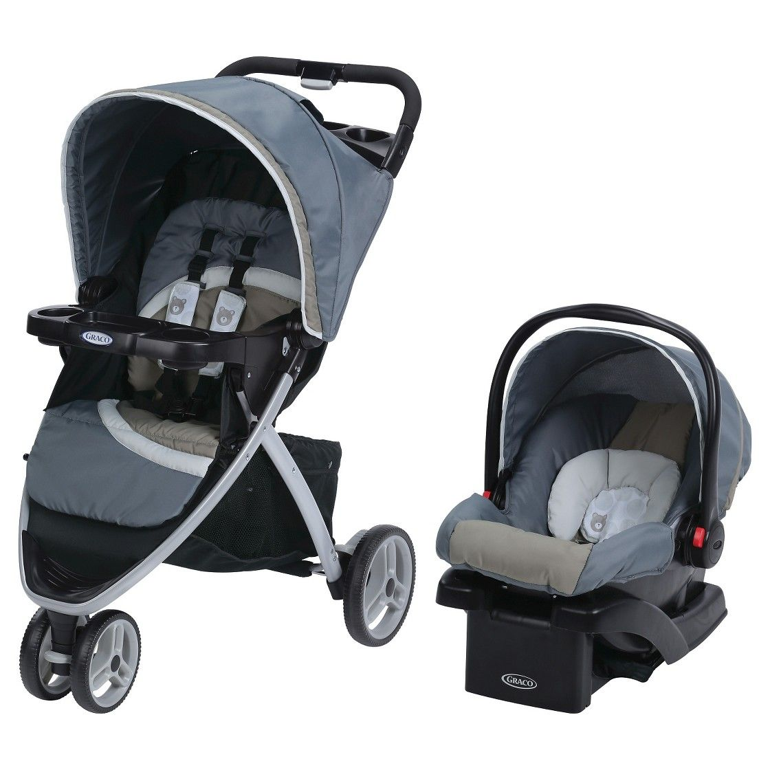 Graco Pace Click Connect Travel System Click connect