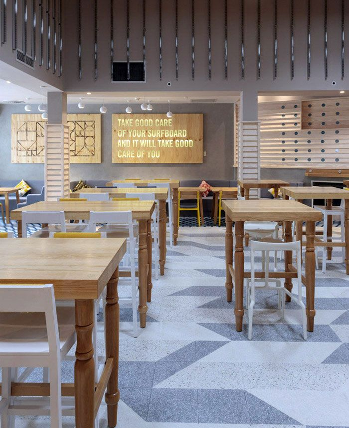 surf inspired bar and club restaurant cafe bar restaurant rh pinterest ca