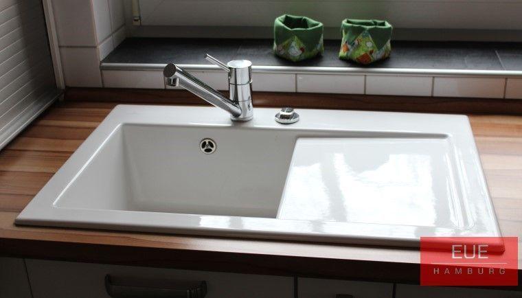 Keramikspüle Subway 45 Becken links - villeroy und boch waschbecken küche