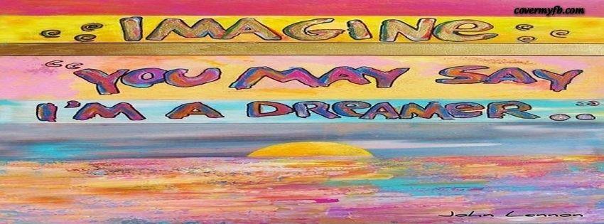 Imagine By John Lennon Facebook Covers FB