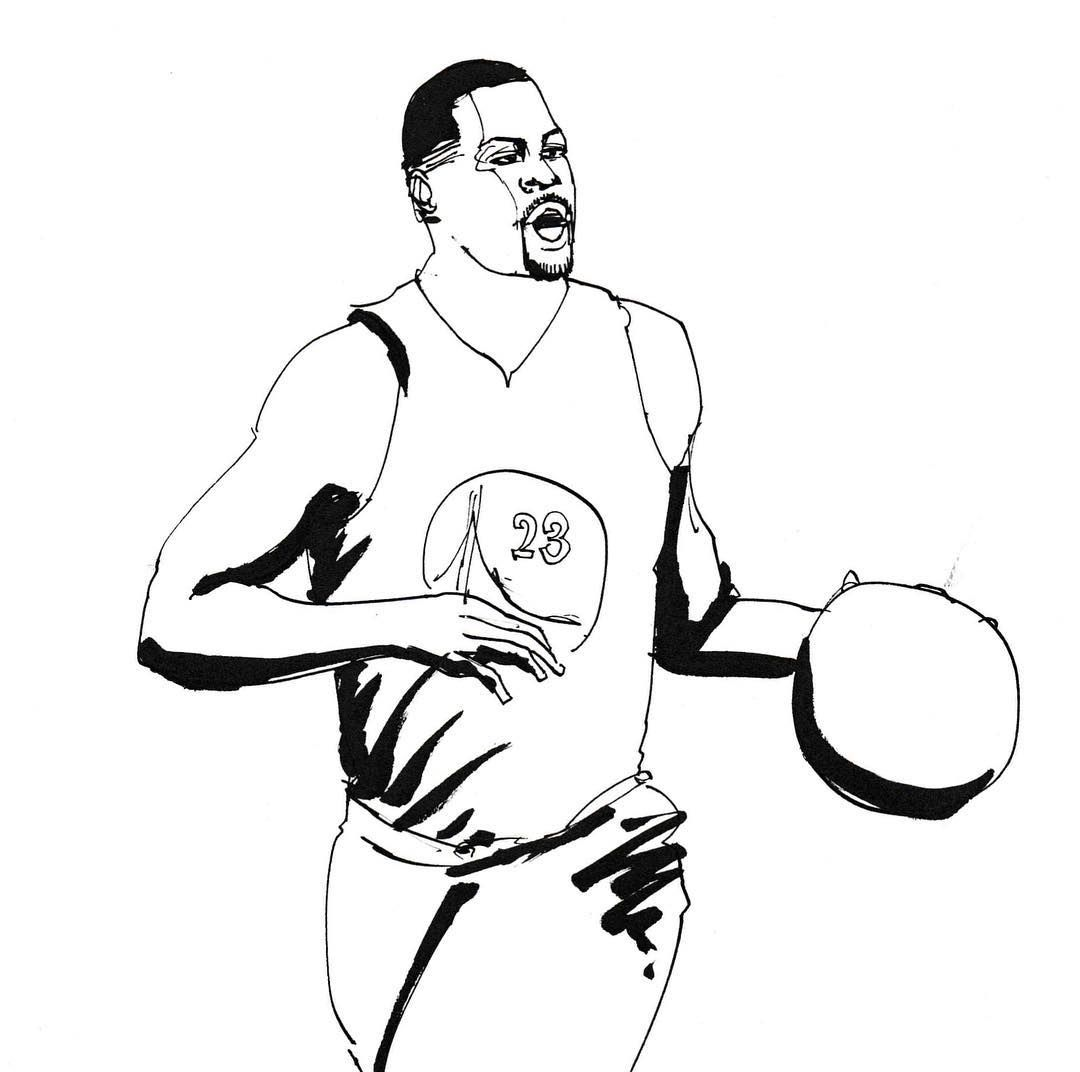 Green Nba Superstar Athlete イラスト マンガ Illustration Art Japan Drawing Creative Sketch Instagood Graphic Artist Ball Drawing Drawings Book Baskets