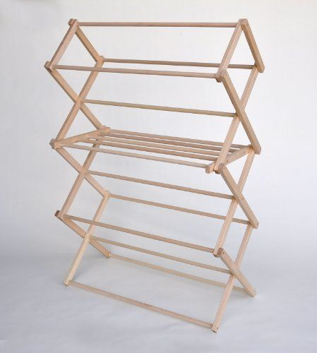 Large Wooden Clothes Drying Rack By Benson Wood Products 2015