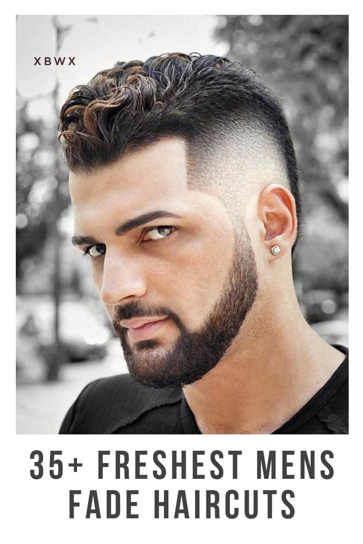 35 Men's Fade Haircuts 2019